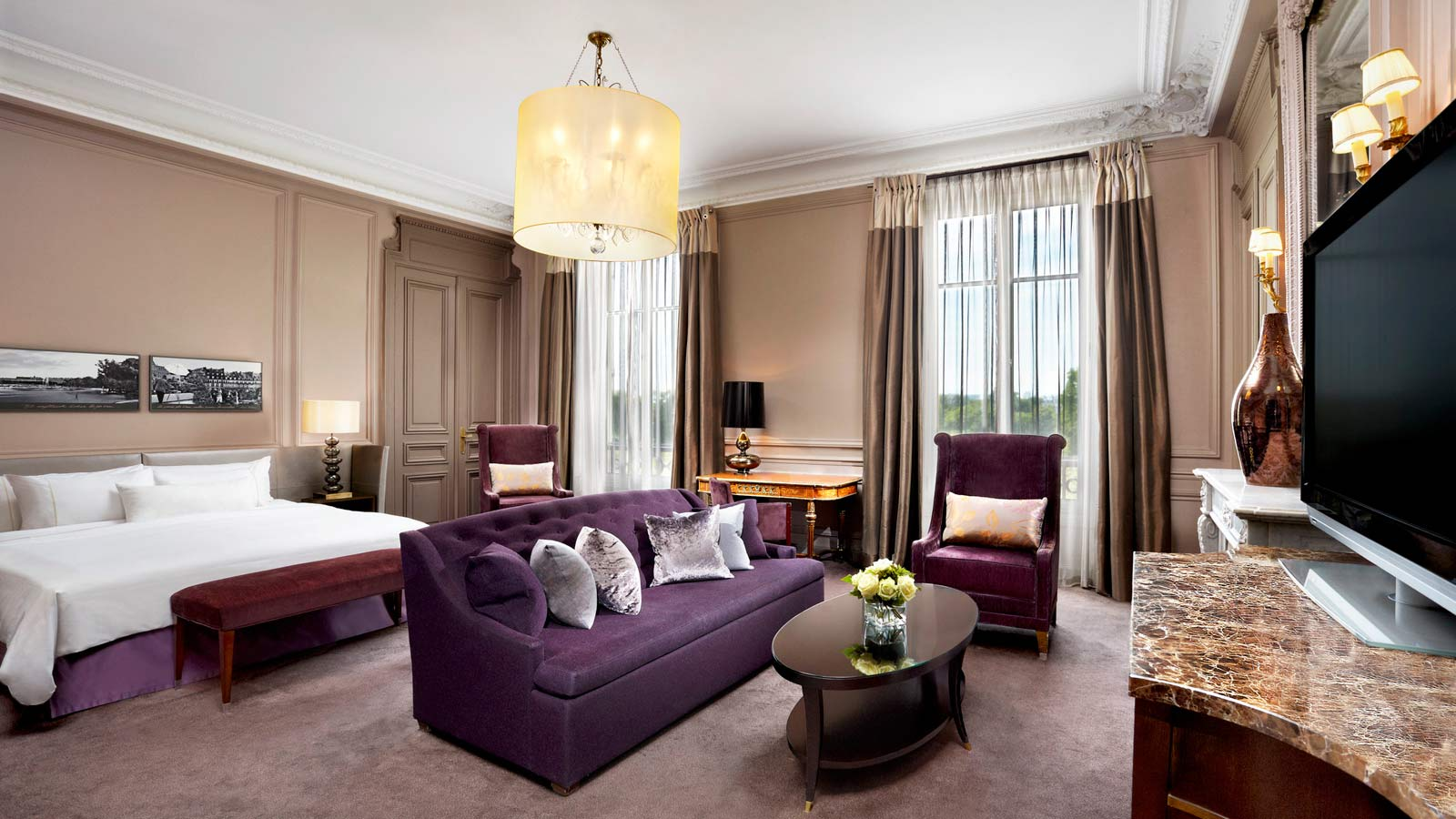 Junior Suite with Eiffel Tower View in The Westin Paris - Vendôme